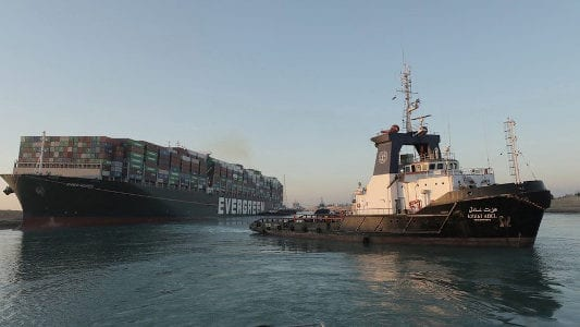 Ever Given blocking of Suez canal adds further pressure for reinsurers: Fitch