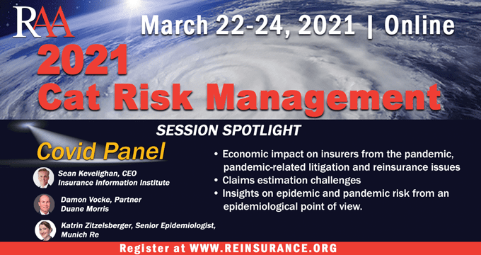Triple-I CEO to speakat RAA Catastrophe Risk Management Conference