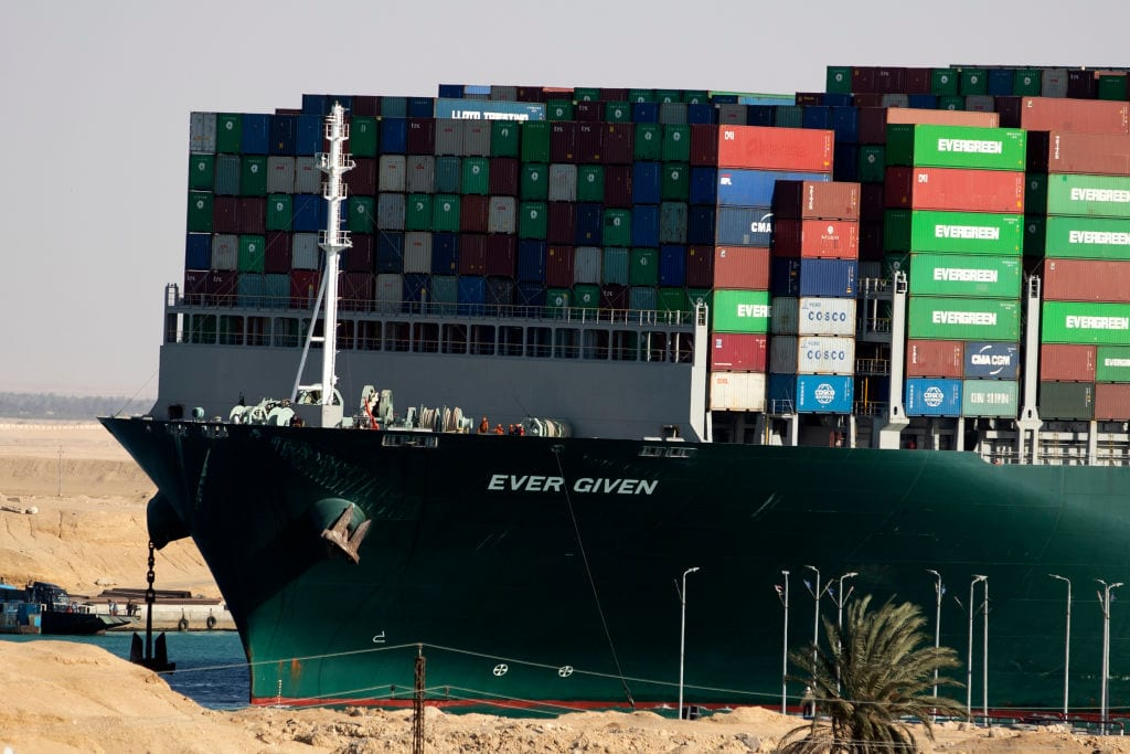 Maritime Supply-Chain Vulnerabilities: Why This Won't Be the Last Timea Megaship Gets Stuck
