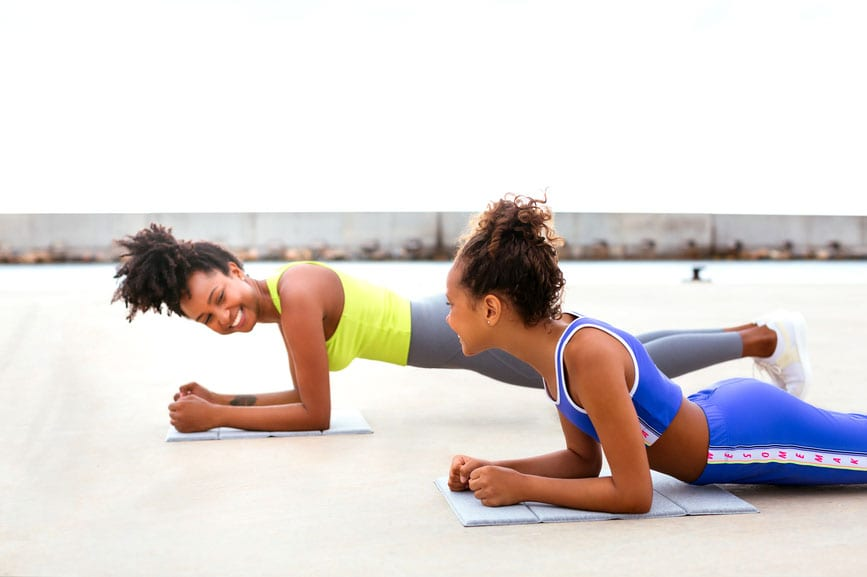 Outdoor workouts anyone can do