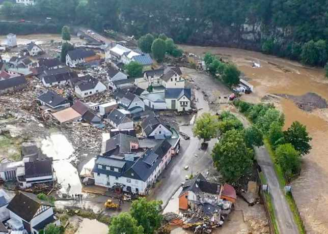 European flood industry loss seen up to US $3bn by Berenberg