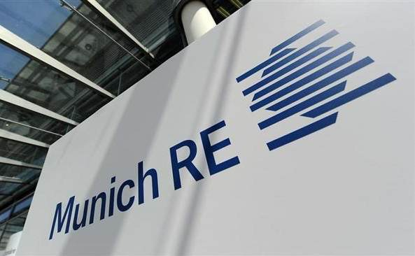 Munich Re expects solid Q2 profit on low cat losses, despite COVID mortality claims